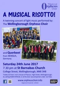 Wellingborough Orpheus Choir - A Musical Risotto 2017
