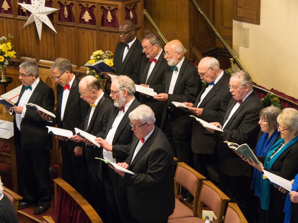 Wellingborough Orpheus Choir. Christmas 2016 at United Reform Church