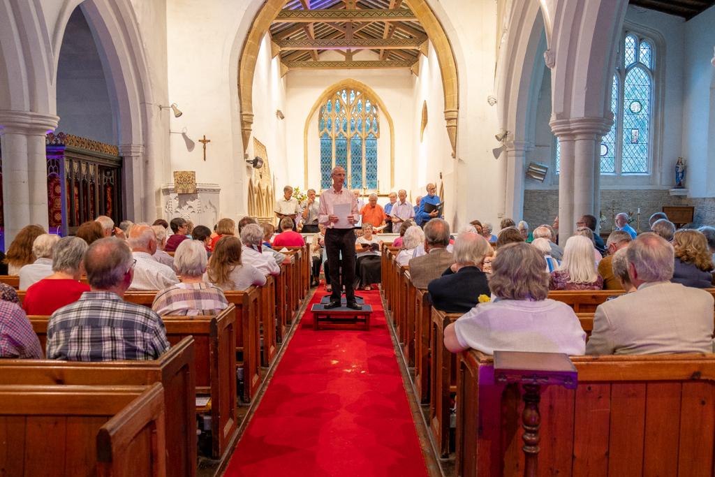 Wellingborough Orpheus Choir. Summer Concert at Holy Trinity Church Denford 2019