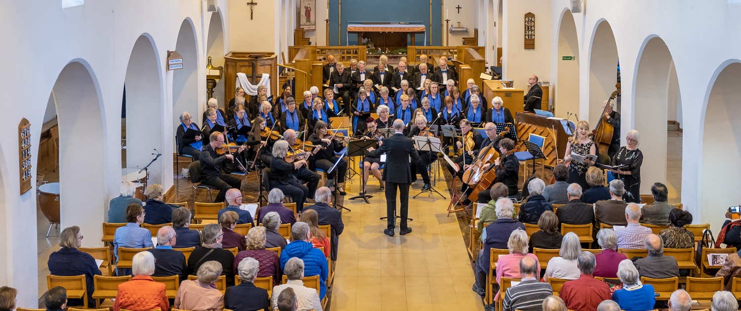 Wellingborough Orpheus Choir performing at St.Barnabas Church