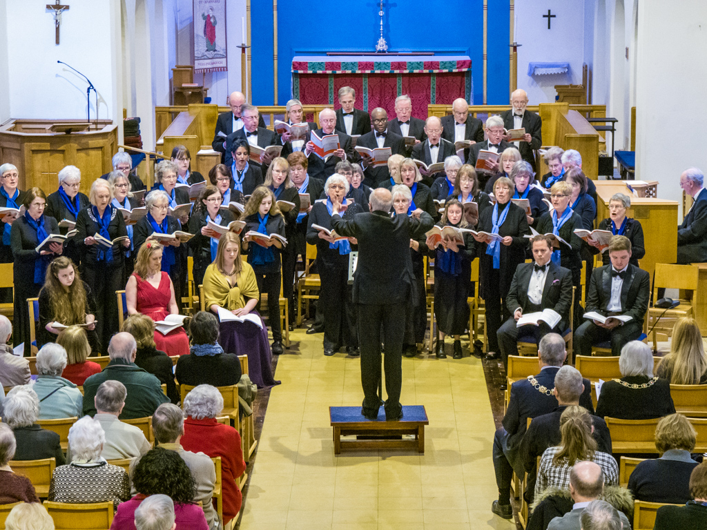 Wellingborough Orpheus Choir Concert at ST. Barnabas Church 2016