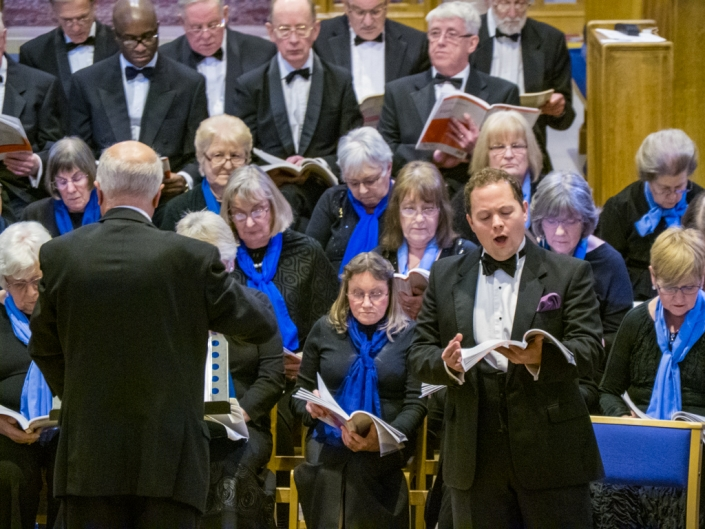 Wellingborough Orpheus Choir Concert at ST. Barnabas Church 2016
